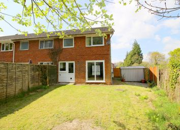 Thumbnail 3 bed end terrace house to rent in Lawson Close, Swanwick, Southampton