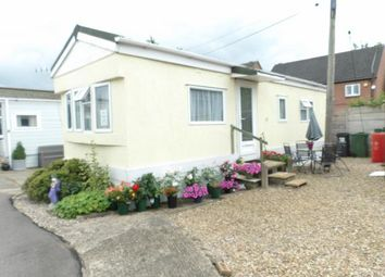 Thumbnail 1 bed mobile/park home for sale in Caravan Park, Upper Church Street, Syston, Leicester