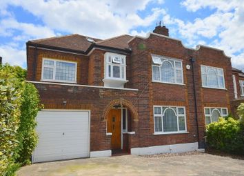 Thumbnail 5 bed semi-detached house for sale in Furham Feild, Pinner