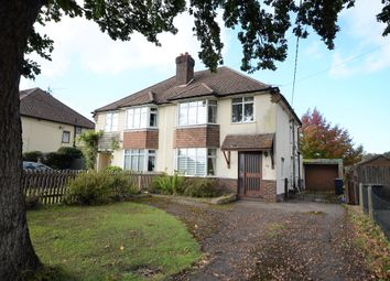 Thumbnail 3 bed semi-detached house for sale in Lower Weybourne Lane, Farnham, Surrey