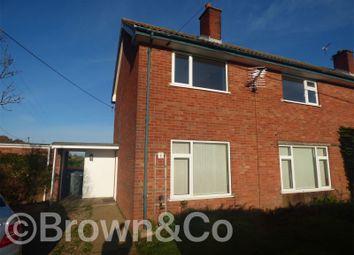 Thumbnail 3 bed semi-detached house for sale in Farm Cottages, 1 Hall Lane, Frettenham, Norwich, Norfolk