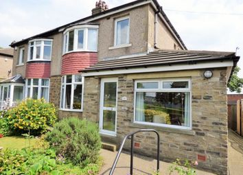 Thumbnail 3 bed semi-detached house for sale in Wrose Road, Shipley