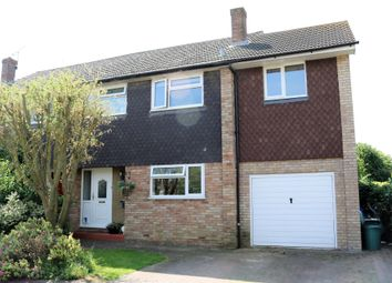 Thumbnail 4 bed semi-detached house for sale in Marriotts Close, Haddenham, Aylesbury