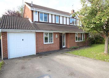 Thumbnail 4 bed detached house for sale in Edingale Court, Bramcote, Nottingham