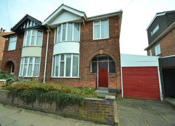 Thumbnail 3 bed semi-detached house for sale in Queens Road, Leicester