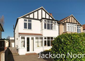 Heatherside Road, West Ewell, Epsom KT19. 3 bed semi-detached house for sale