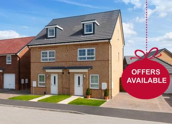 """Thumbnail 4 bed terraced house for sale in """"Kingsville"""" at Morgan Drive, Whitworth, Spennymoor"""