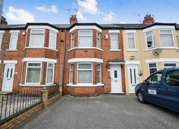 Thumbnail 2 bedroom terraced house for sale in Cardigan Road, Hull