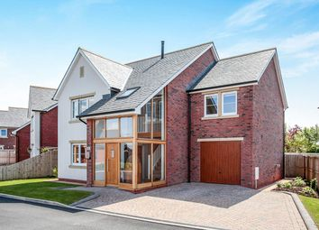 Thumbnail 4 bed detached house for sale in Hillcroft, Thurstonfield, Carlisle