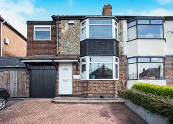 Thumbnail 3 bed semi-detached house for sale in Madison Avenue, Chaddesden, Derby
