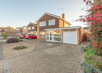 Thumbnail 3 bed detached house for sale in Woodham, Addlestone