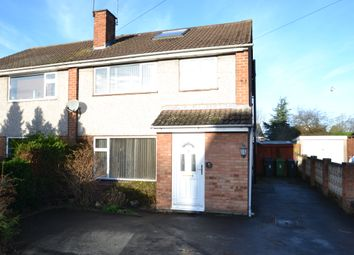 Thumbnail 4 bed semi-detached house to rent in Springfield Avenue, Newport