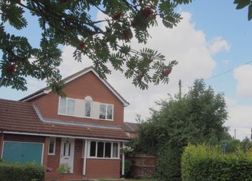 Thumbnail 4 bedroom detached house for sale in Melton Road, Wymondham