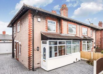 Thumbnail 3 bed semi-detached house for sale in Barton Avenue, Grappenhall, Warrington, Cheshire