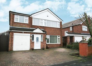 Thumbnail 5 bed detached house for sale in South Dale, Penketh, Warrington