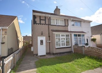 Thumbnail 2 bedroom semi-detached house to rent in Hilary Road, Scartho, Grimsby