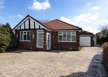 Thumbnail 2 bed bungalow for sale in Peveril Drive, Hazel Grove, Stockport