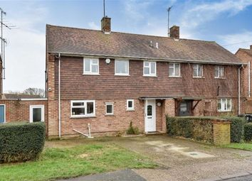 Thumbnail 3 bed semi-detached house for sale in Swan Road, Hailsham