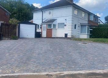 Thumbnail 3 bed semi-detached house for sale in Quinton Road, Harborne, Birmingham