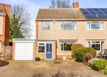 Thumbnail 3 bed semi-detached house for sale in Edgehill Road, Northampton, Northamptonshire