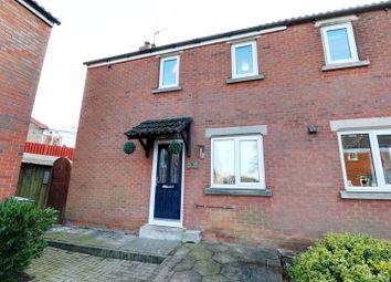 Thumbnail 3 bed semi-detached house for sale in Whitewell Close, Kirton Lindsey, Gainsborough