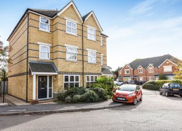 Thumbnail 6 bed town house for sale in Nightingale Shott, Egham