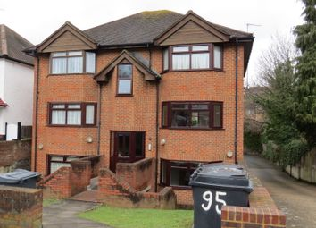 Thumbnail 1 bed flat to rent in 95 Purley Park Road, Purley