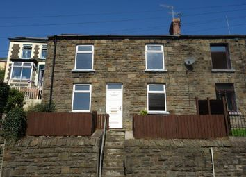 Thumbnail 3 bed terraced house to rent in East Road, Tylorstown
