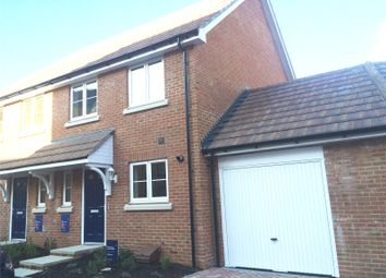 Thumbnail 3 bed semi-detached house for sale in Choir Close, Rochester, Kent