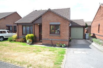 Thumbnail 2 bed detached bungalow for sale in Harvest Road, Tytherington, Macclesfield