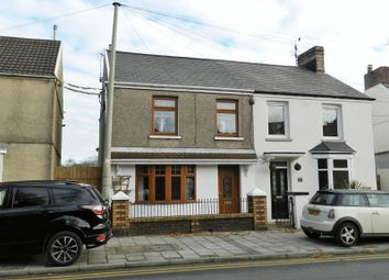 Thumbnail 2 bed semi-detached house to rent in Maesteg Road, Tondu, Bridgend