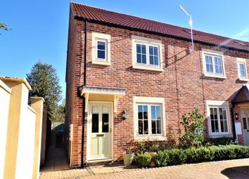 Thumbnail 3 bed end terrace house for sale in Edmondthorpe Road, Wymondham, Melton Mowbray, Leicestershire
