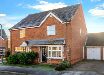Thumbnail 3 bed semi-detached house for sale in Churchfields Road, Folkingham, Sleaford, Lincolnshire