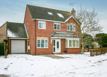 Thumbnail 5 bed detached house for sale in The Causeway, Isleham, Ely