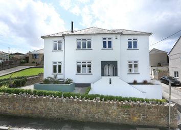 Thumbnail 4 bed detached house for sale in Park Crescent, Oreston, Plymouth