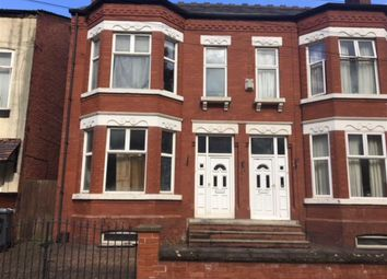 Thumbnail 5 bed semi-detached house for sale in East Road, Longsight, Manchester