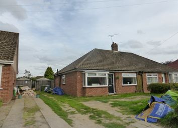 Thumbnail 2 bed semi-detached bungalow for sale in South Hill Road, Thorpe St. Andrew, Norwich