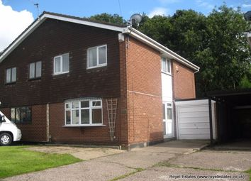 Thumbnail 3 bed semi-detached house to rent in Ashenhurst Road, Brierley Hill
