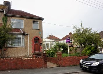 Thumbnail 3 bed end terrace house for sale in Northend Avenue, Kingswood