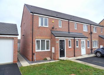Thumbnail 3 bedroom terraced house for sale in Woolf Drive, South Shields