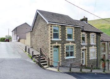 Thumbnail 3 bed end terrace house for sale in Fern Street, Ogmore Vale, Bridgend, Bridgend County.