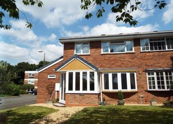 Thumbnail 3 bed semi-detached house for sale in Woodend Close, Redditch, Worcestershire