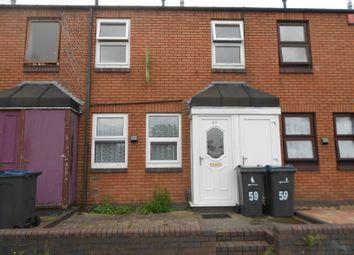 Thumbnail 2 bedroom terraced house to rent in Dolobran Road, Birmingham