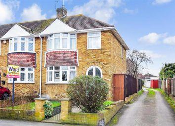 Thumbnail 3 bed end terrace house for sale in Tufton Road, Rainham, Gillingham, Kent