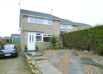 Thumbnail 3 bedroom semi-detached house for sale in Cornwall Drive, Grassmoor, Chesterfield