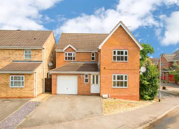 Thumbnail 4 bed detached house for sale in Merrivale Close, Kettering