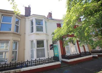 Thumbnail 4 bed terraced house to rent in Edinburgh Road, Kensington, Liverpool