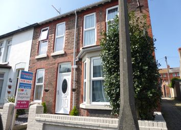 Thumbnail 4 bedroom end terrace house for sale in Magazine Avenue, Wallasey