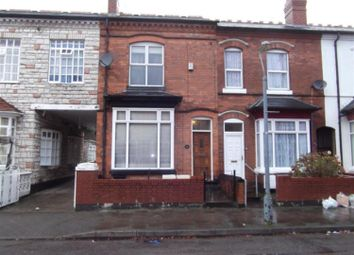 Thumbnail 4 bedroom terraced house for sale in Antrobus Road, Handsworth, Birmingham