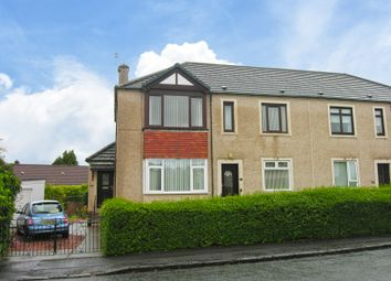 Thumbnail 1 bed flat for sale in Mossneuk Crescent, Wishaw